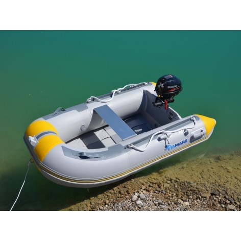 Inflatable Viamare 250T white with inflatable floor