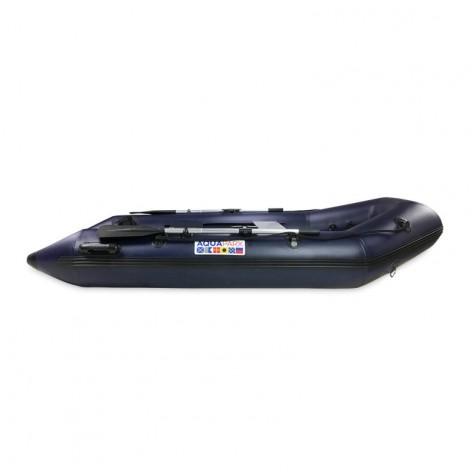 Barco neumático Aquaparx RIB 230 MKII PRO AZUL con suelo de listones