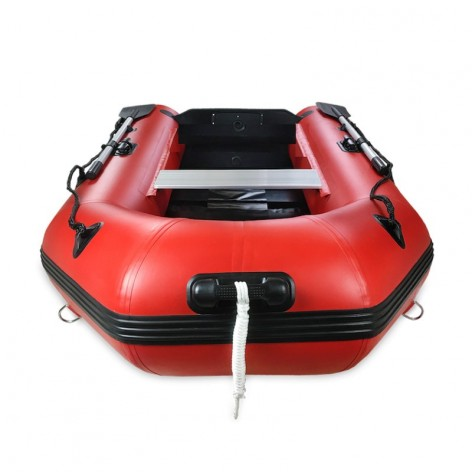Barca gommata bianca Aquaparx RIB 230 MKII PRO con pavimento a doghe