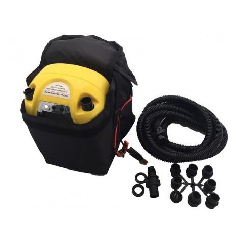 Hinchador electrico SUPERTURBO 12V para embarcaciones neumaticas, Kayaks, kites o SUP