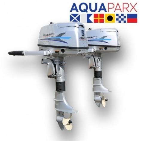 Motor fueraborda Aquaparx 5CV 4 tiempos