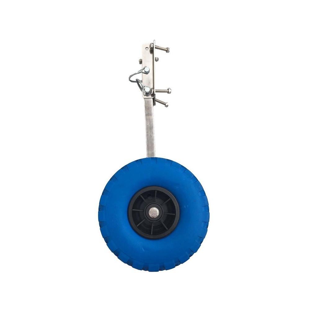Reudas de botadura OZEAM con rueda de goma para Embarcaciónes Neumaticas