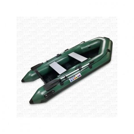 Barcos infláveis Aquaparx RIB 280 MKII PRO VERMELHO com piso de RIPAS de madeira