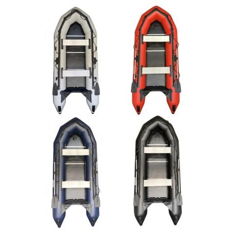 Barcas hinchables OZEAM 300 con suelo de madera