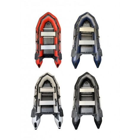 OZEAM SD249-AD inflatable boat with inflatable floor