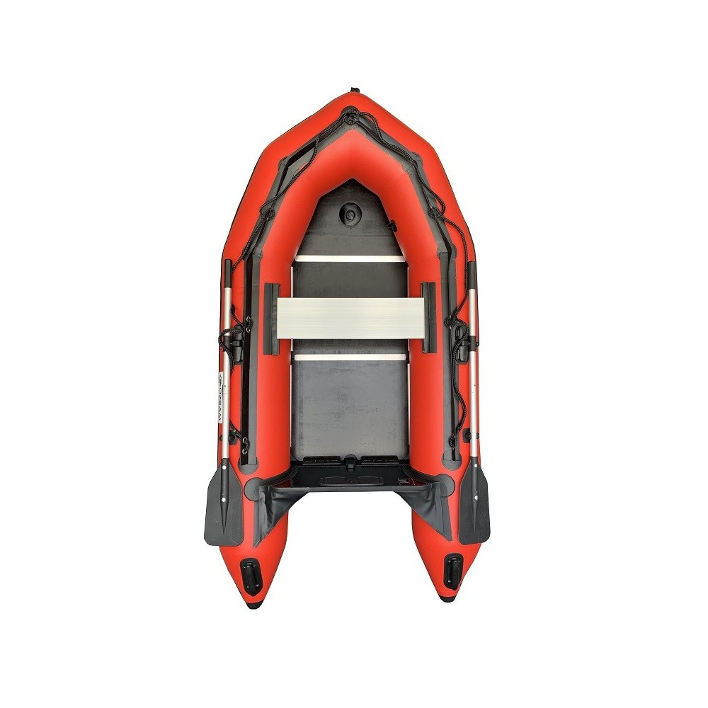 OZEAM 249 inflatable boat with wooden floor