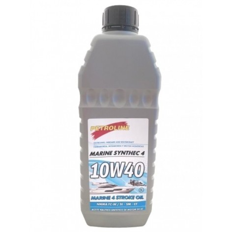 Olio sintetico PETROLINE 10w40